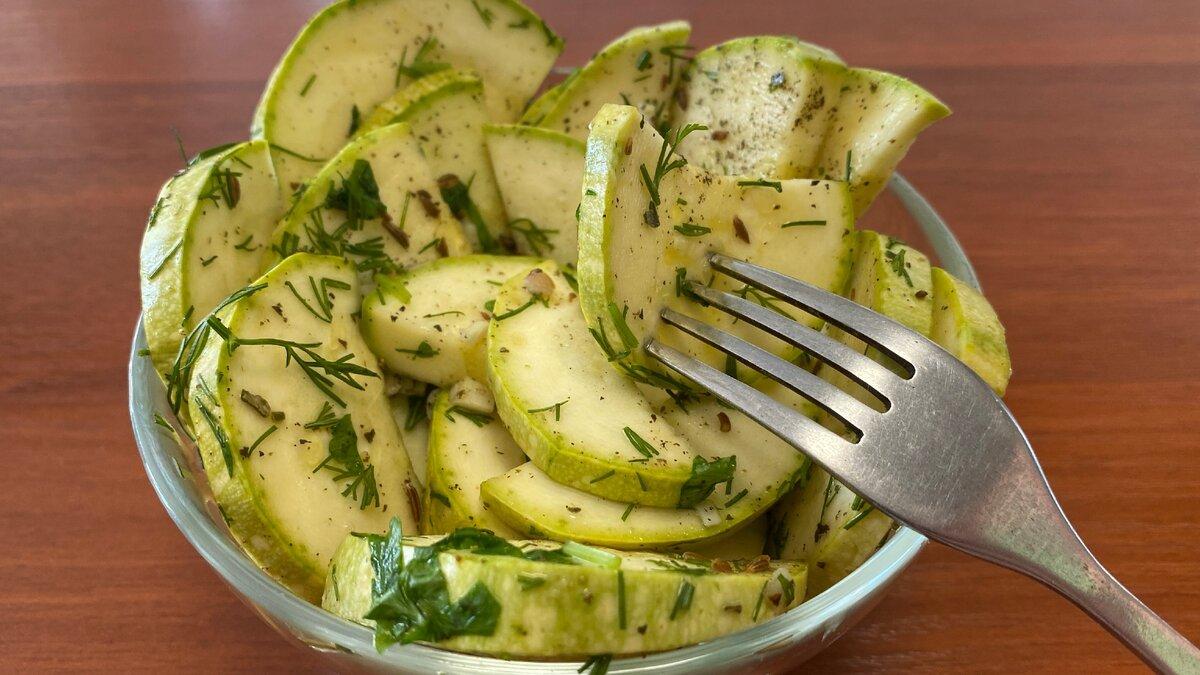 Рецепты быстрого приготовления хрустящих малосольных кабачков за 5 минут - всё про сады