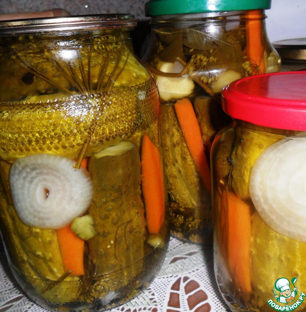 Маринование огурцов на зиму: рецепты хрустящие на 1 литр