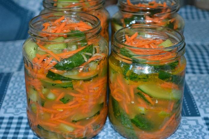 10 лучших рецептов приготовления кабачков с морковью на зиму