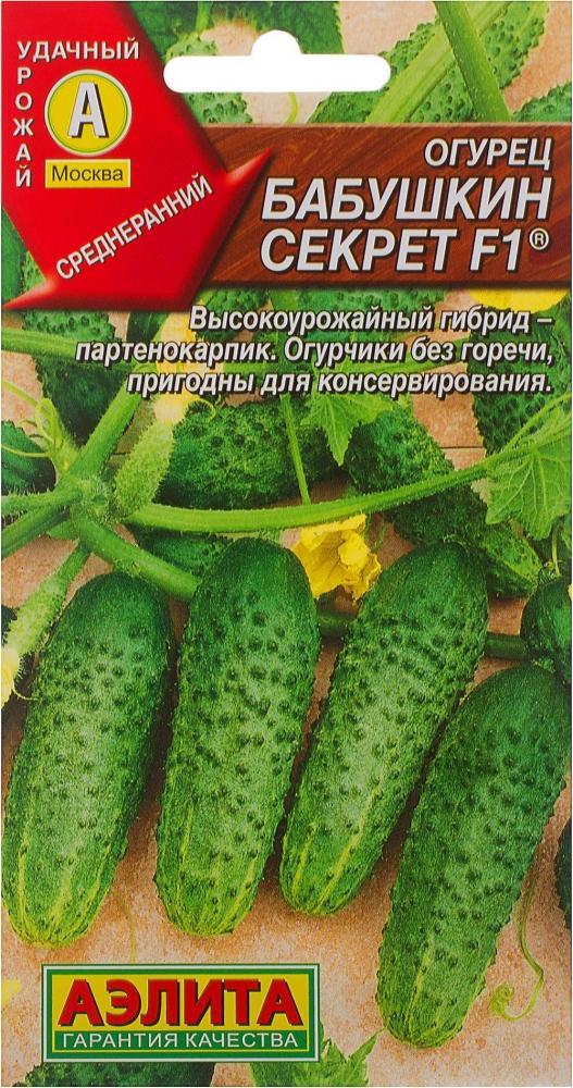 Огурцы сорта «бабушкин секрет f1»: правила посадки, выращивания и ухода