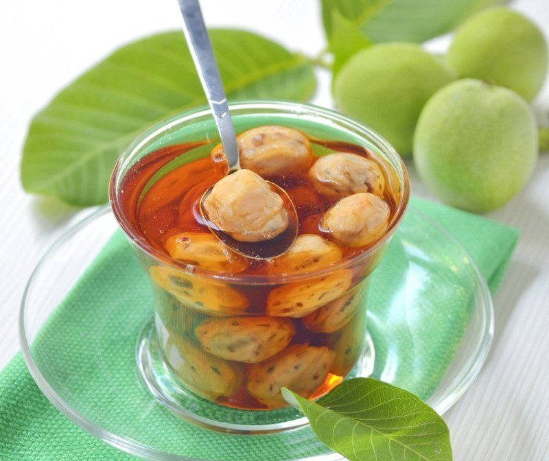 Варенье из грецких орехов – самые вкусные рецепты на любой вкус