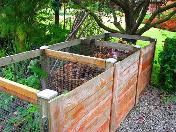Компостная яма (ящик для компоста) своими руками: варианты изготовления, фото - строительство и ремонт