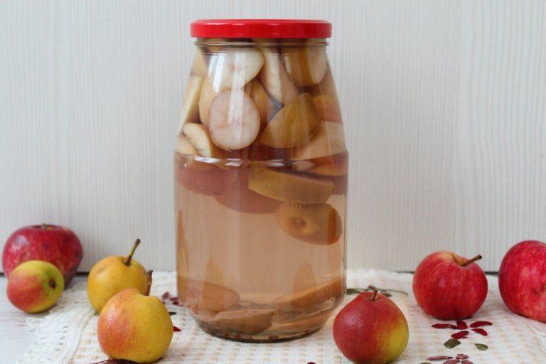 Компот из груш на зиму. 9 способов сварить и заготовить вкусный компот в банках