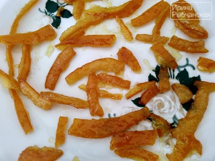 Апельсиновые цукаты – простое и вкусное лакомство с востока