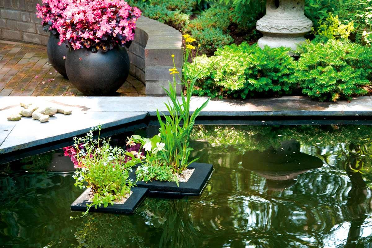Пластиковый пруд – выбор, установка, оформление. советы и рекомендации.