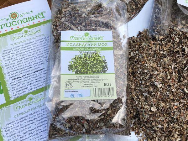 Исландский мох от кашля. как применять таблетки исла моос