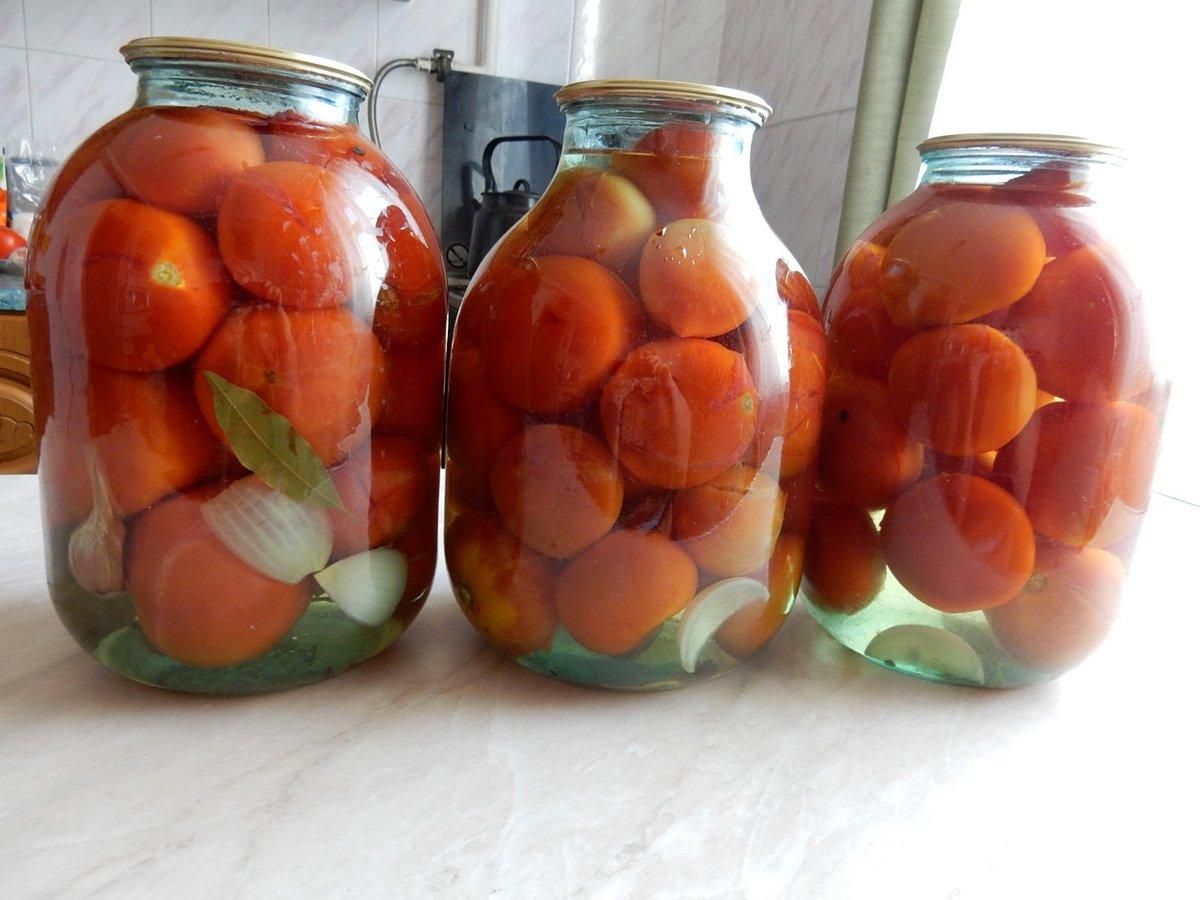 Маринованные помидоры с лимонной кислотой: топ-6 рецептов на зиму