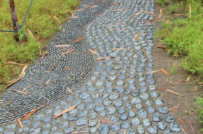 Садовые дорожки своими руками с малыми затратами: эконом-варианты для дачи