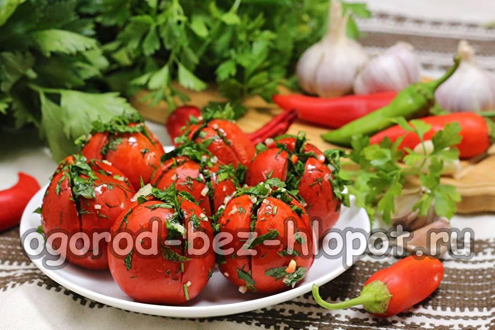 Зелёные помидоры по-грузински: рецепты на зиму, быстрые способы приготовления