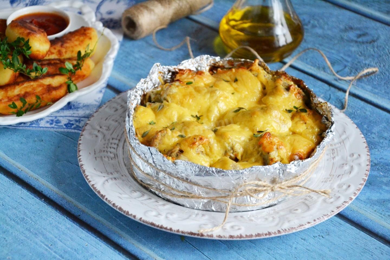 Картошка с фаршем в духовке – 10 пошаговых рецептов приготовления