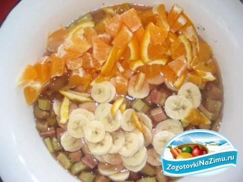 Варенье из ревеня с бананом: лучший рецепт приготовления на зиму, условия хранения