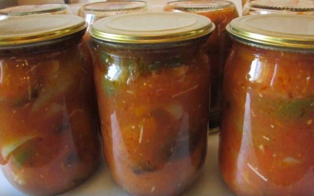 Пошаговые рецепты приготовления лечо из баклажанов на зиму