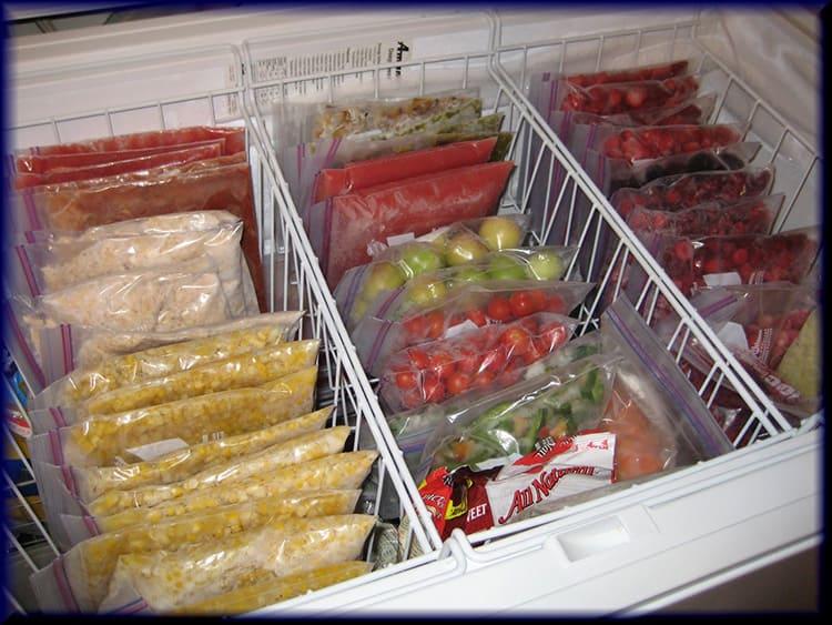 Как заморозить зелень, овощи и грибы на зиму в морозилке