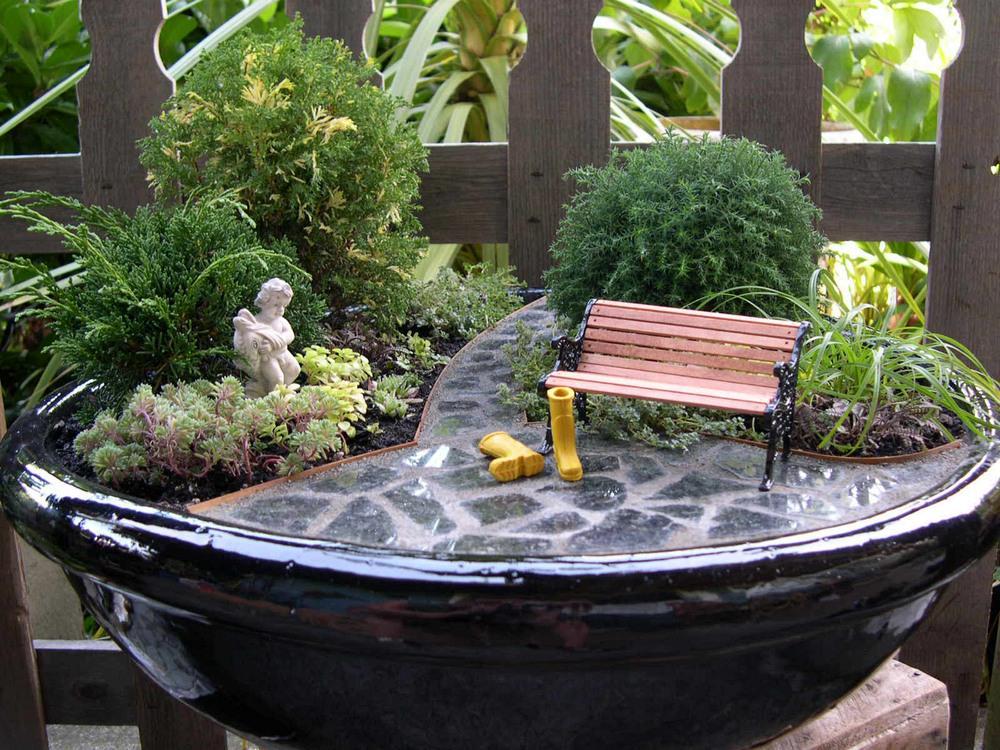 Мини-сад в горшке: мастер-класс по изготовлению своими руками