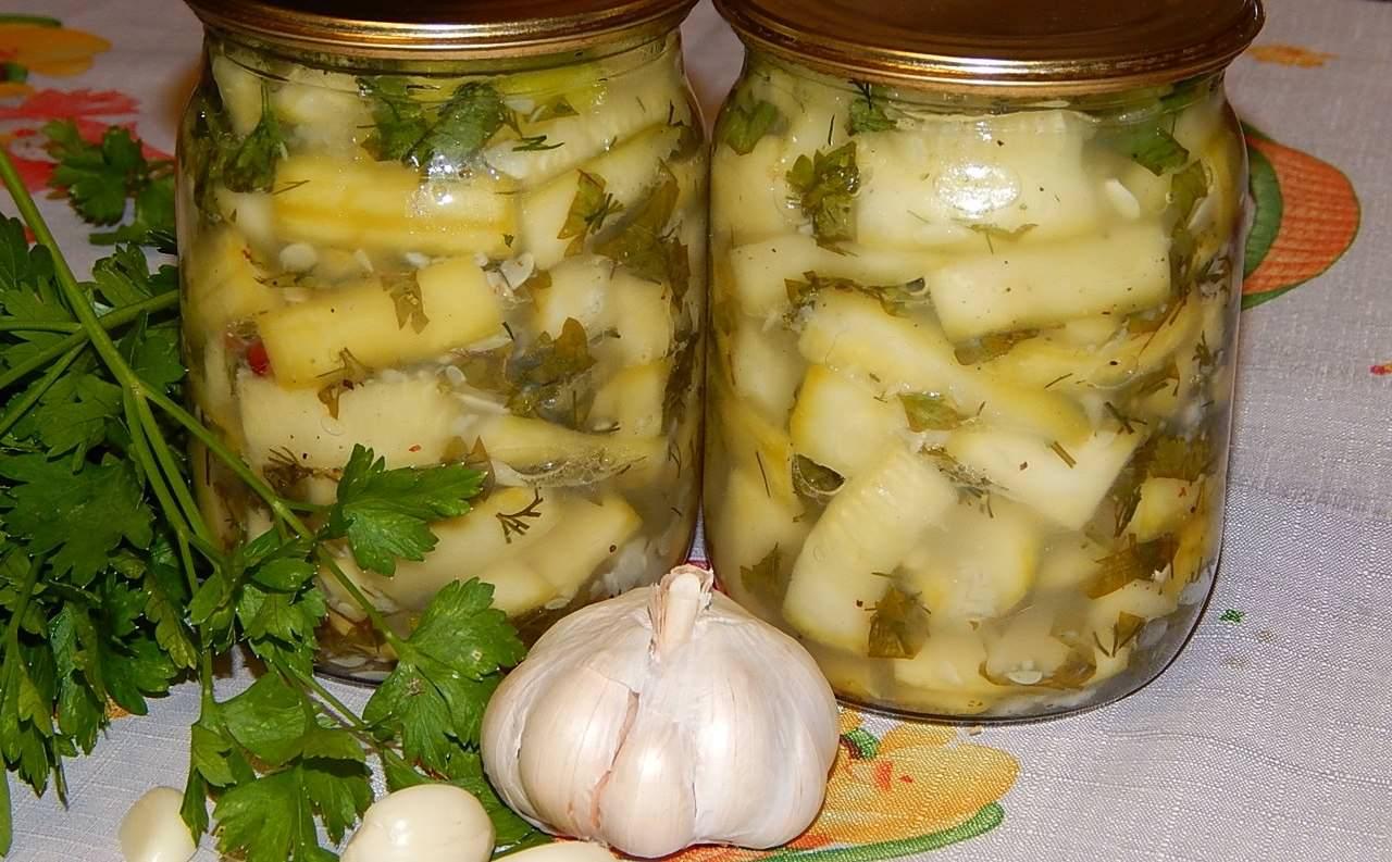 Маринованные кабачки на зиму: 20 вкусных и простых рецептов приготовления