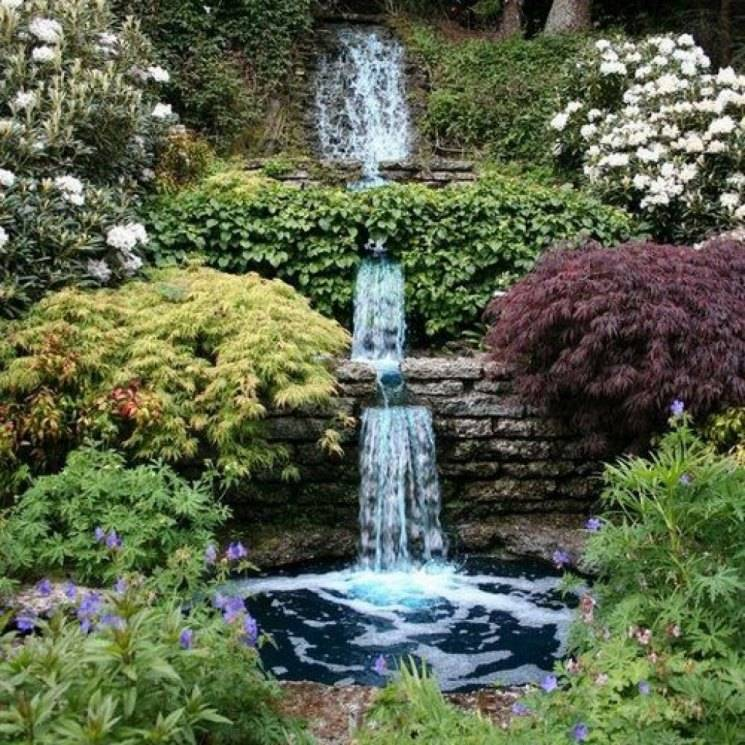 Декоративные, садовые фонтаны с помпой для дачи и для дома