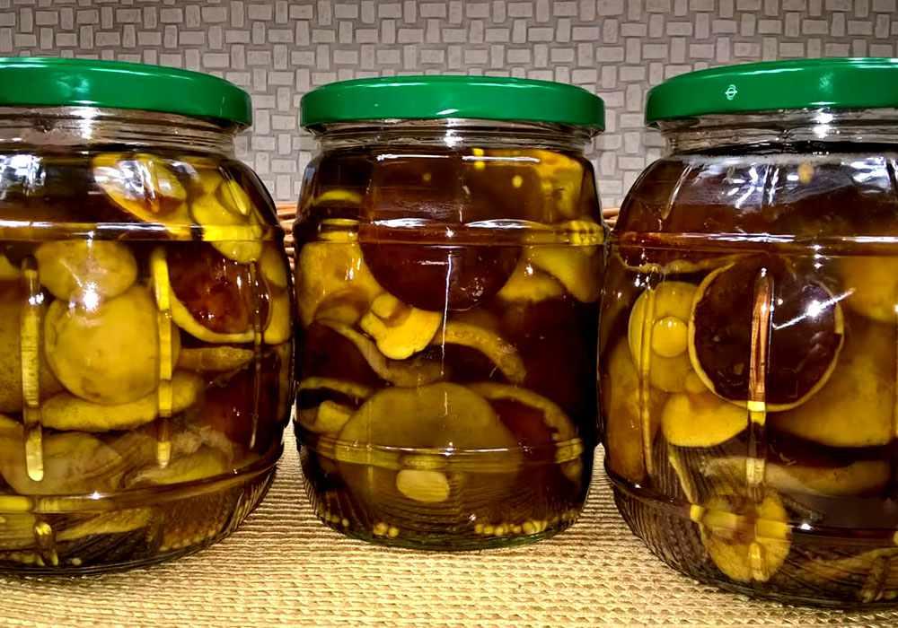 ТОП 10 рецептов приготовления маринованных моховиков на зиму в банках