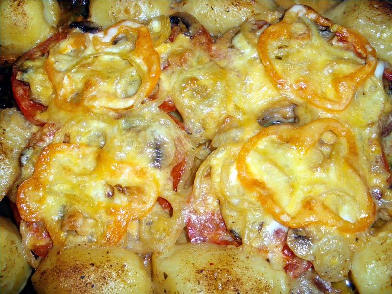 Картошка с мясом — 6 рецептов приготовления в духовке