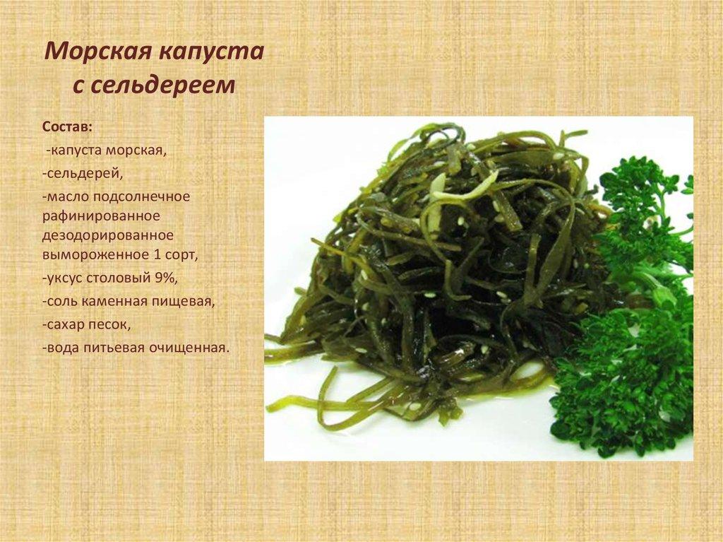 Морская капуста для похудения - польза и вред, калорийность, рецепты приготовления диетических блюд