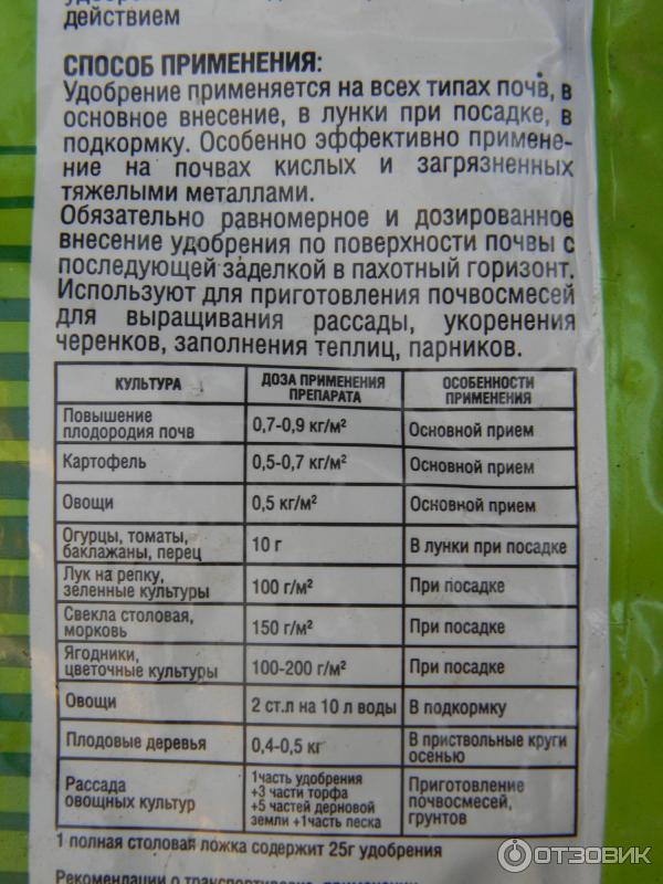 Инструкция по применению препарата гидрогумат торфа для огурцов