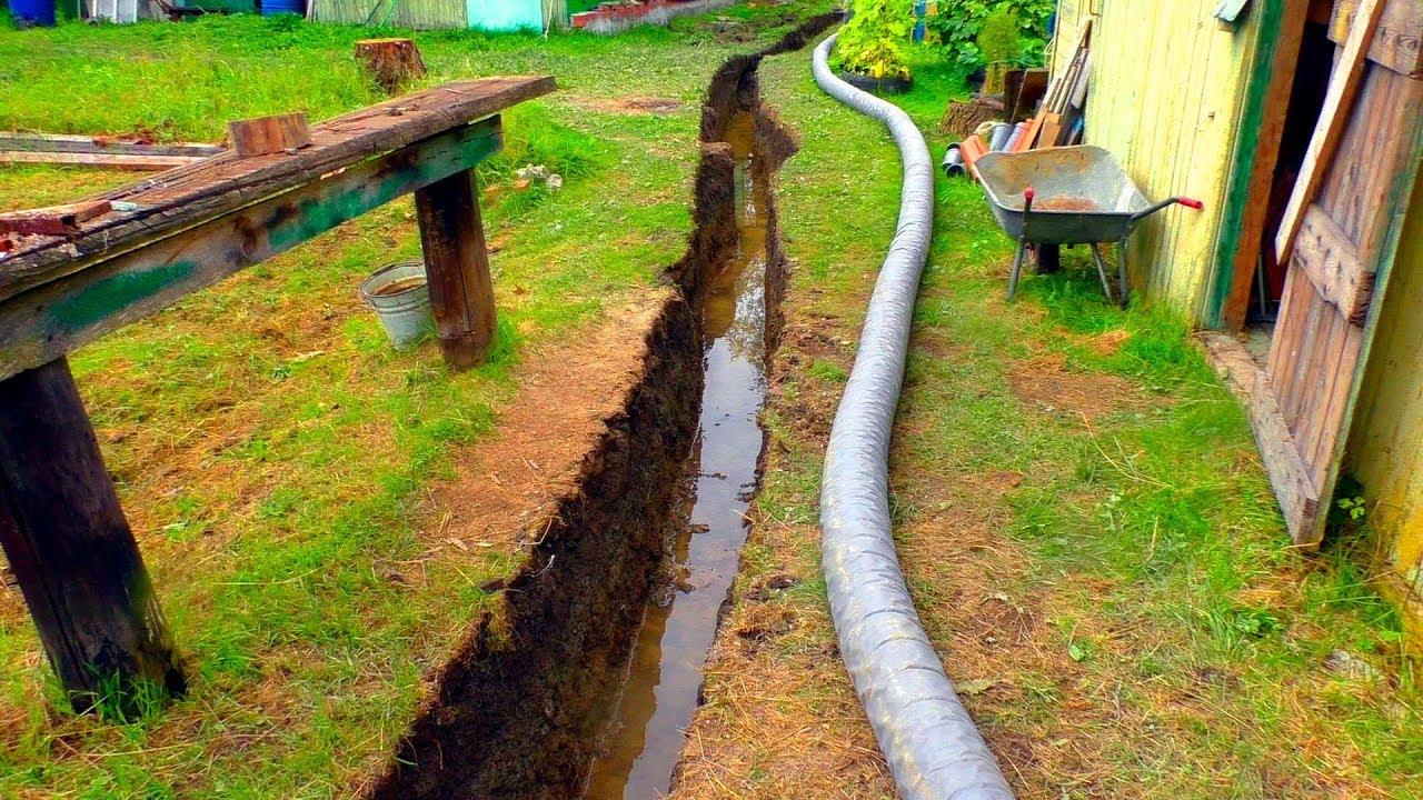 Что такое высокий уровень грунтовых вод и как с этим бороться?
