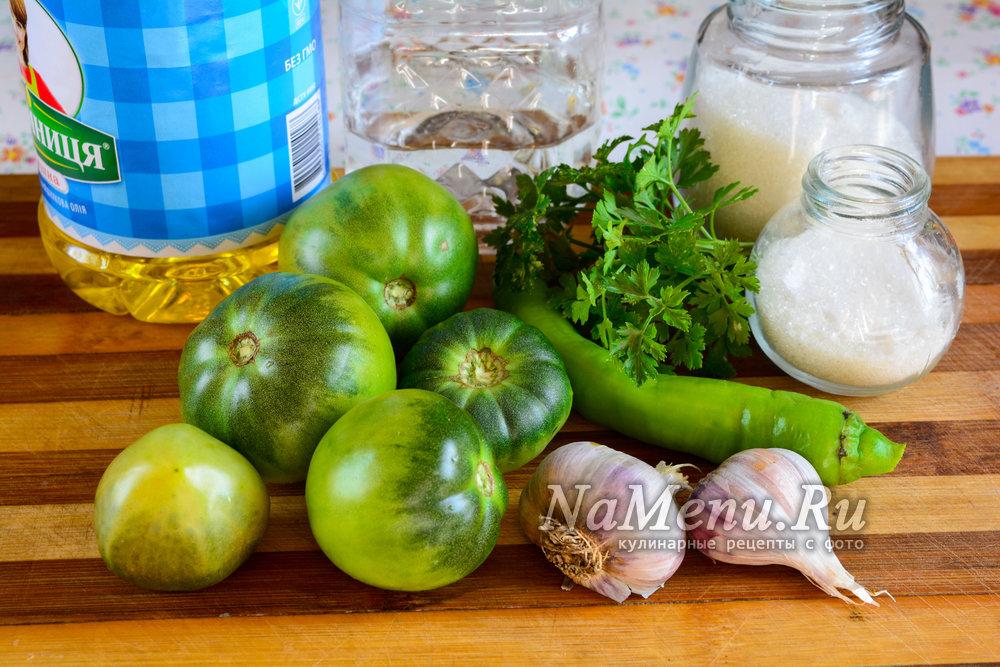 Зеленые помидоры в аджике на зиму. аджика из зеленых помидор на зиму: лучшие рецепты с фото