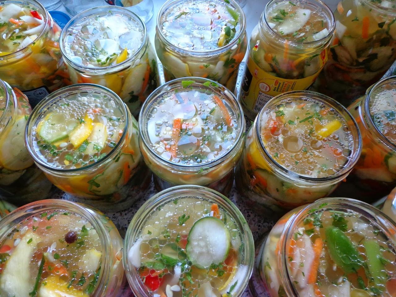 Маринованные овощи: рецепт приготовления и рекомендации. маринованное ассорти из овощей на зиму