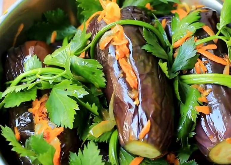 Как заквасить баклажаны на зиму: баклажаны квашеные с морковью, зеленью и чесноком