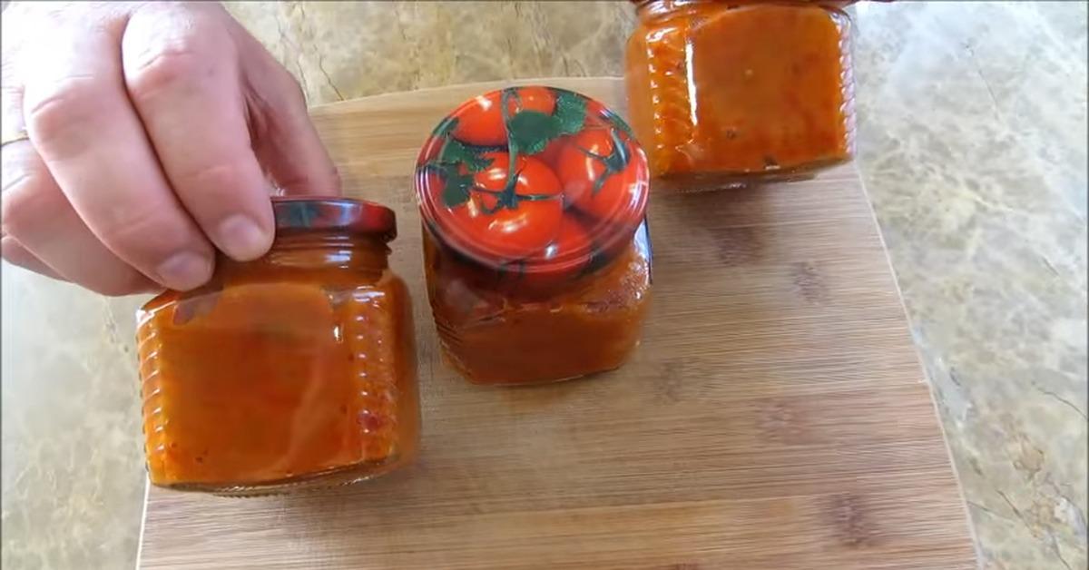 Айвар (закуска из перца на зиму) пошаговый рецепт