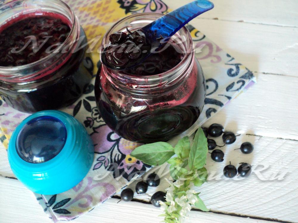 9 вкусных рецептов приготовления варенья Пятиминутка из черной смородины на зиму