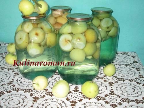 Компот из яблок на зиму: 19 вкусных рецептов приготовления консервации