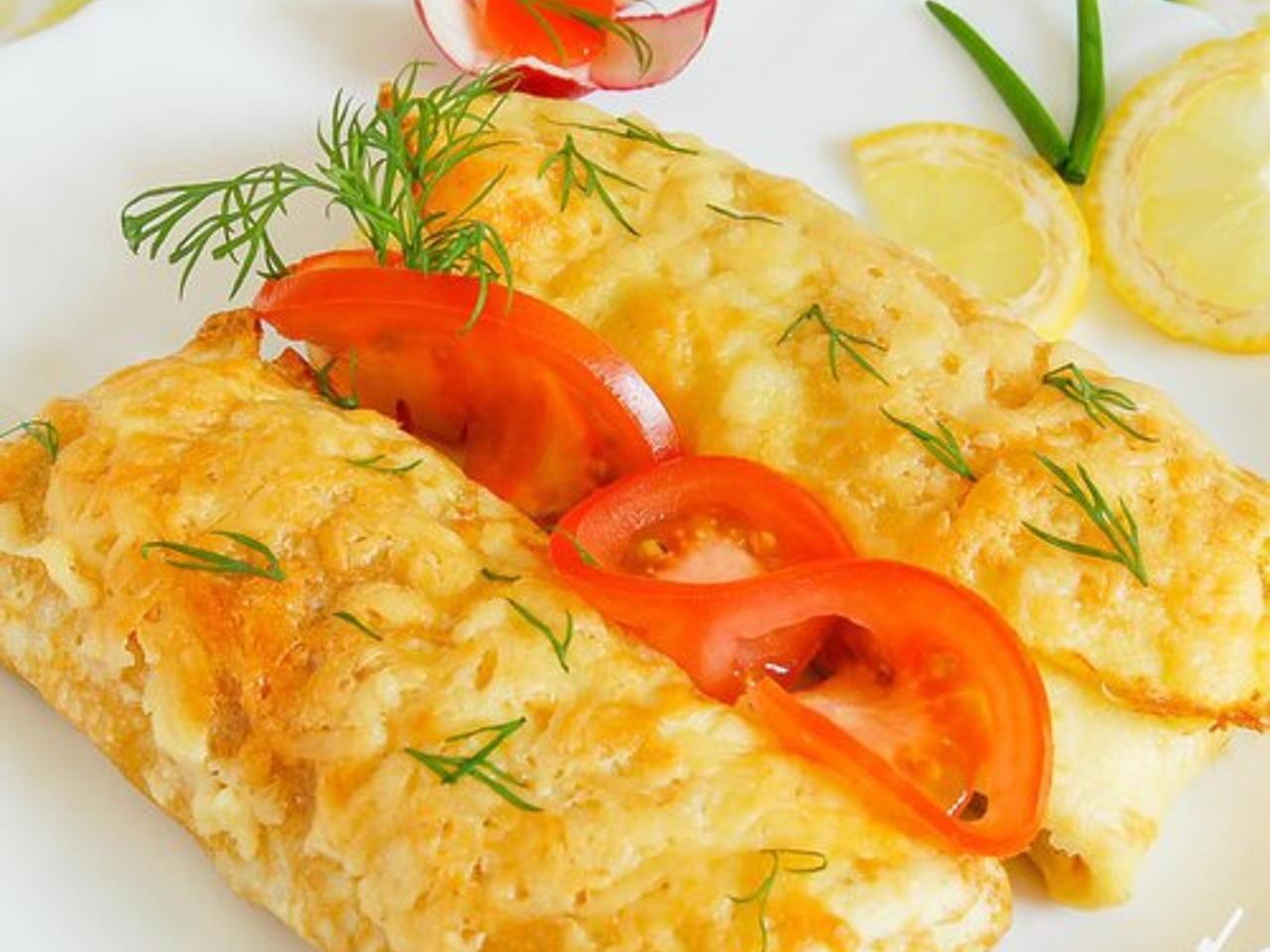 Фаршированные помидоры с ветчиной и сыром рецепт с фото пошагово и видео - 1000.menu