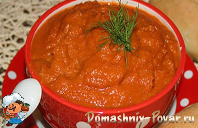 Топ 7 лучших рецептов кабачковой икра с томатной пастой на зиму