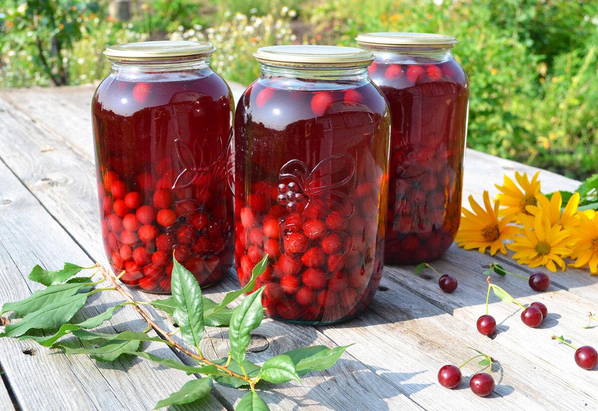 Компот ассорти на зиму из фруктов, ягод рецепты на 3 литровую банку