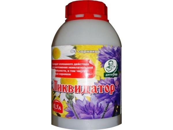 Ликвидатор от сорняков – инструкция по применению гербицида