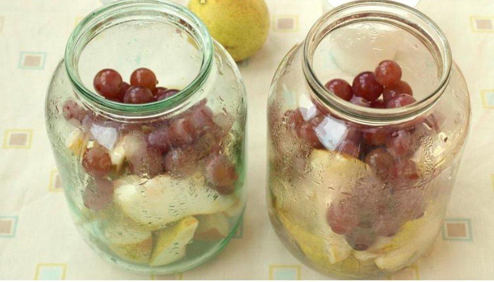 Компот из винограда - пошаговые рецепты приготовления в домашних условиях на зиму с фото