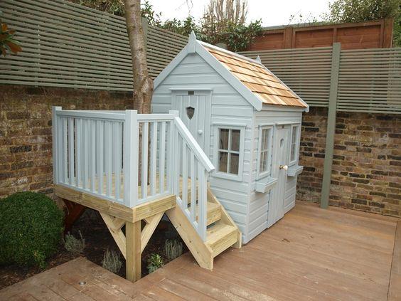 Как сделать игровой домик для детей своими руками: фото домов для игр на даче