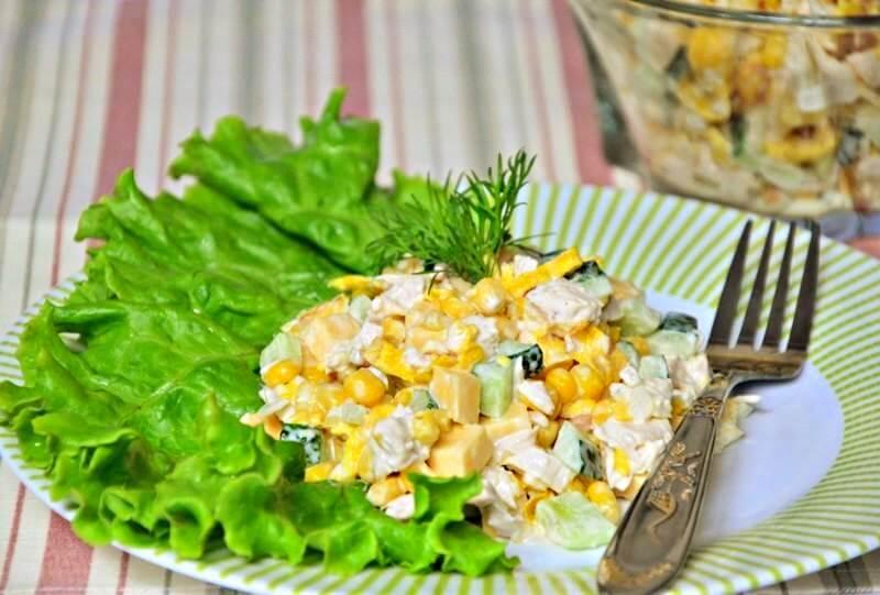 Салат с яичными блинчиками – 7 вкусных рецептов приготовления