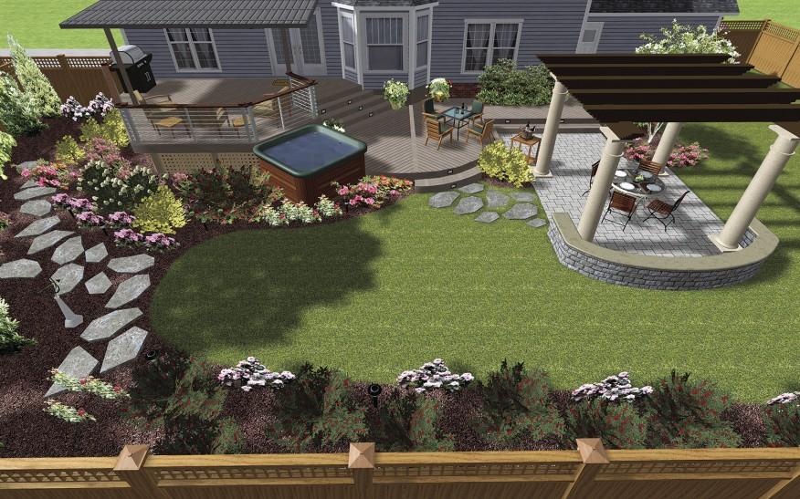 Урок 28 — редактирование точек и форм в ландшафтной программе realtime landscaping architect   flokus.ru - ландшафтный дизайн