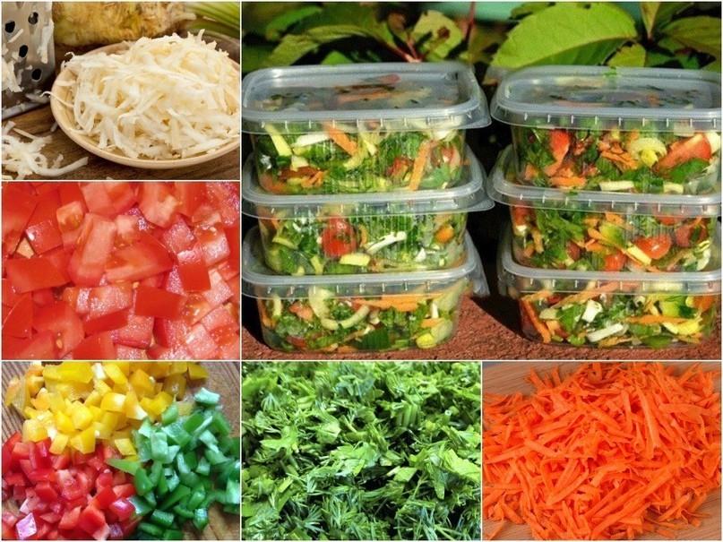 Заморозка овощей на зиму: свежими в морозилке, какие овощи и фрукты можно замораживать