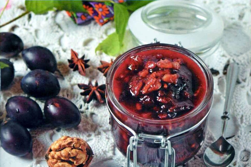16 рецептов сливового варенья – едана