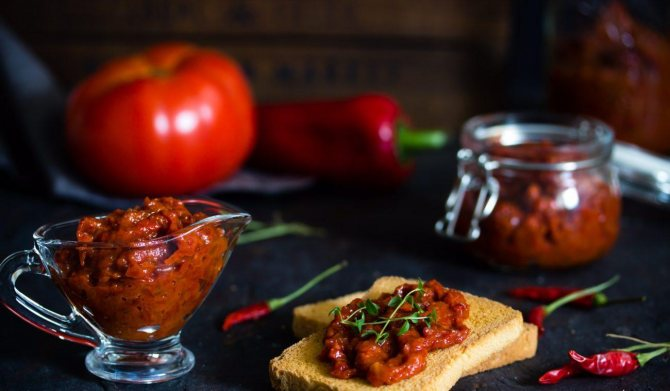 Лютеница по-болгарски: рецепты приготовления в домашних условиях