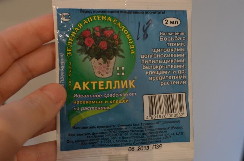 Особенности применения эффективного препарата актеллик: преимущества инсектицида