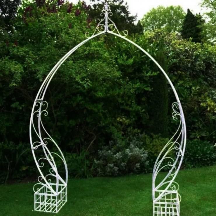 Как сделать арку для роз: размеры, инструкция, материалы для конструкции