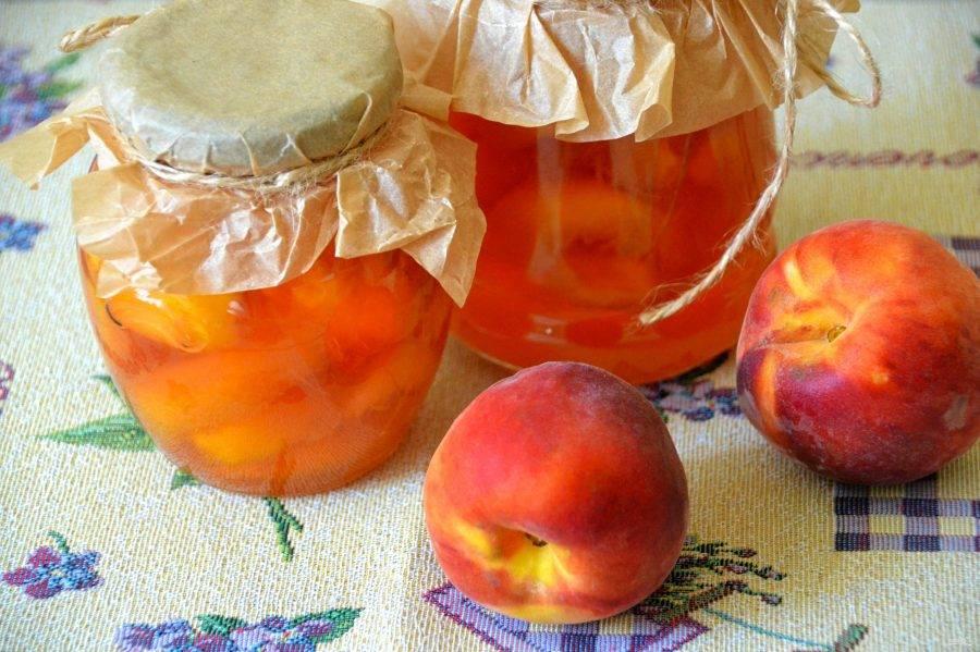 Варенье из персиков дольками на зиму: простой рецепт с фото пошагово