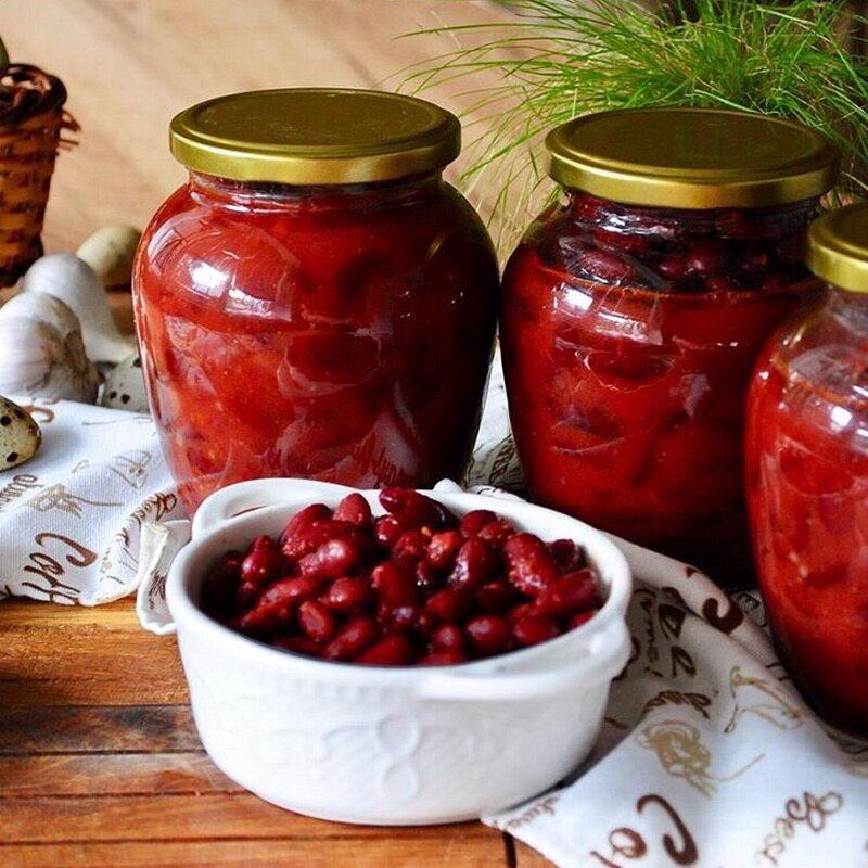 Лобио - домашнее консервирование и заготовки - страна мам