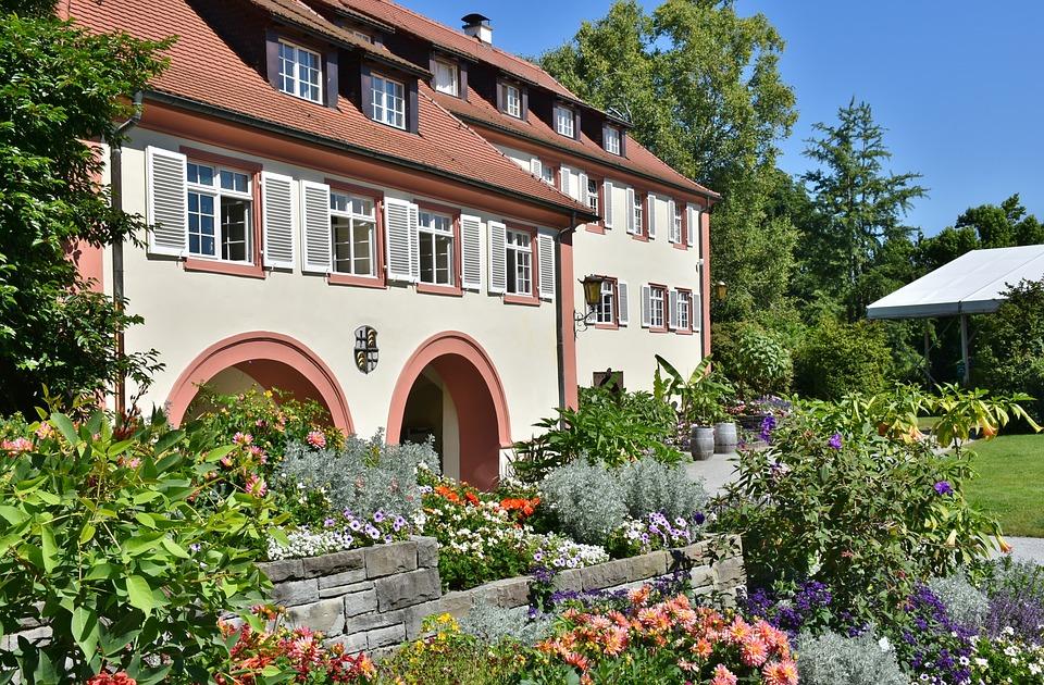 Такая вот германия   чудесный цветочный остров майнау в германии.