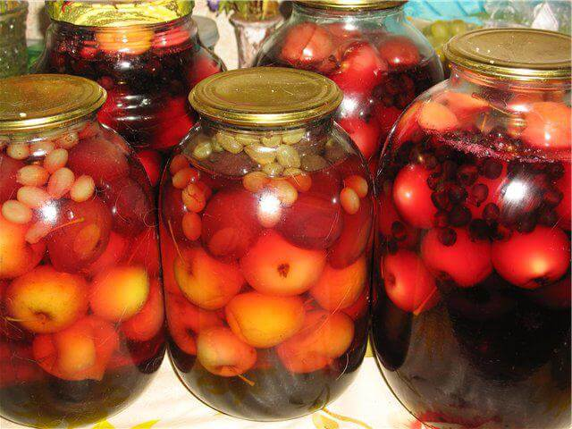 Компот из ягод на зиму: 7 простых рецептов приготовления консервации