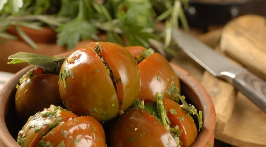 Фаршированные помидоры по армянски на зиму. рецепт приготовления красных помидор на зиму по-армянски. зеленые помидоры по-армянски на зиму