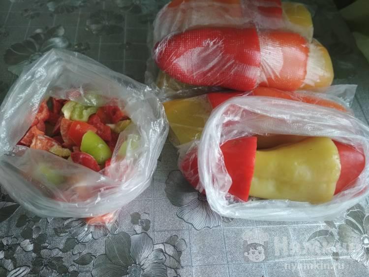 Как заморозить болгарский перец - 12 пошаговых фото в рецепте
